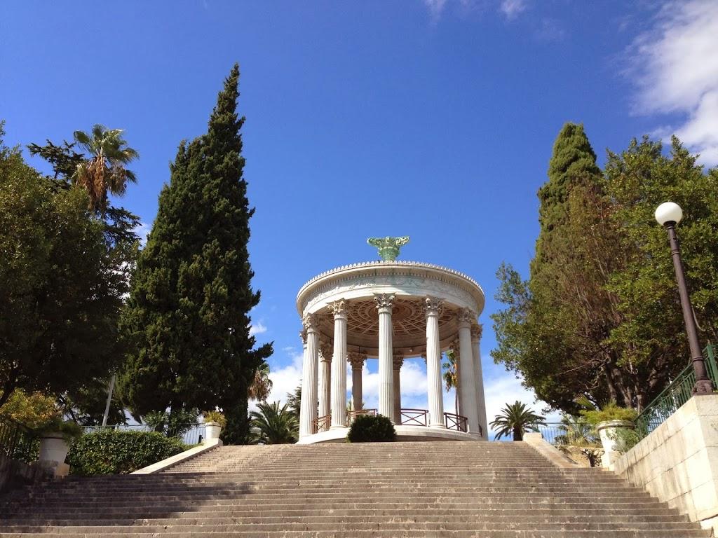 parc chambrun-nice-temple de diane